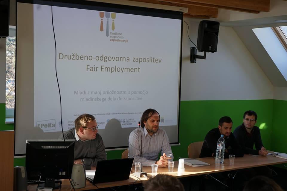 Evropski projekt Družbeno-odgovorna zaposlitev