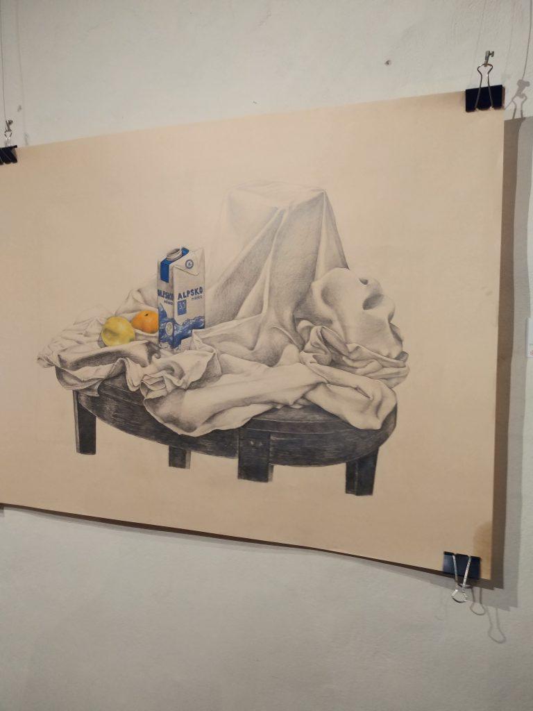 V Vetrinjskem dvoru odprtje razstave Veni vidi da Vinci
