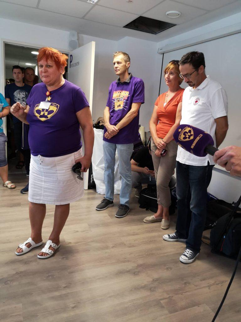 Vijol'čno kri za vse ljudi darovalo 234 krvodajalcev