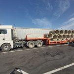 Neustrezno zavarovan tovor prevažal brez dovoljenja